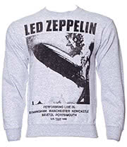 Led Zeppelin Performing Live Sweatshirt (Grey)