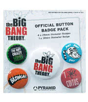 The Big Bang Theory Logo Badge Pack