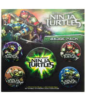 Teenage Mutant Ninja Turtles Badge Pack