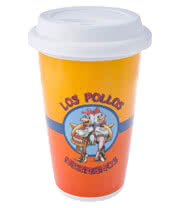 Breaking Bad Los Pollos Travel Mug