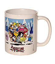 Adventure Time Ball Of Fun Mug (White)