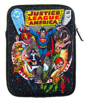 "DC Comics Justice League Retro Comic Neoprene Tablet Sleeve (10"")"