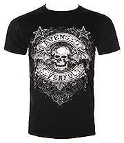 Avenged Sevenfold Star Flourish T Shirt (Black)