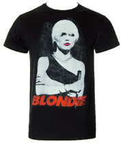 Blondie Red Lips T Shirt (Black)