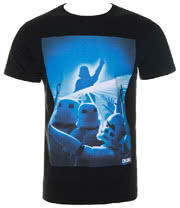 Chunk Clothing Star Wars Warehouse Party T Shirt (Black)