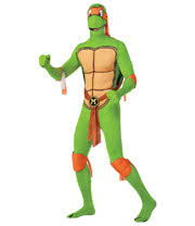 Rubies 2nd Skin Teenage Mutant Ninja Turtle Costume (Michelangelo)