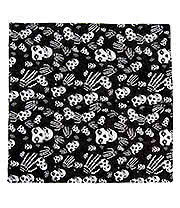Blue Banana Skull & Hands Bandana