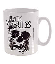 Black Veil Brides Skullogram Mug (White)