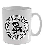All Time Low Skull City Mug (White)