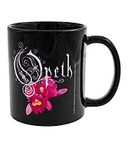 Opeth Orchid Mug (Black)