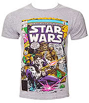 Star Wars Han & Chewie T Shirt (Grey)