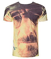 Breaking Bad Walter Face T Shirt (White)