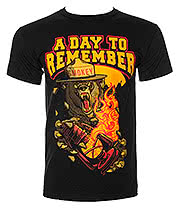 A Day To Remember Smokey T Shirt (Black)
