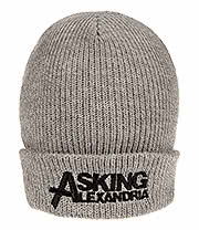 Asking Alexandria Logo Beanie (Grey)