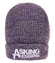 Asking Alexandria Logo Beanie (Purple)