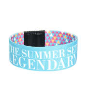 The Summer Set Logo Wristband