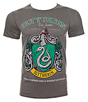 Harry Potter Slytherin T Shirt (Graphite)