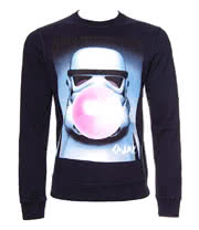 Chunk Clothing Star Wars Stormtrooper Bubble Sweatshirt (Navy)