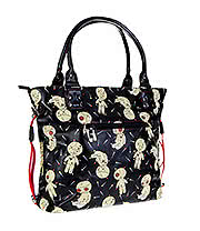 Banned Distractions Voodoo Dolls Tote Bag (Black)