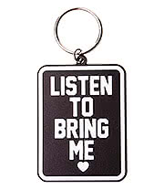 Bring Me The Horizon Listen To Keyring