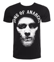 Sons Of Anarchy Jax Hood T Shirt (Black)