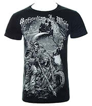 Motionless In White Reaper T Shirt (Black)
