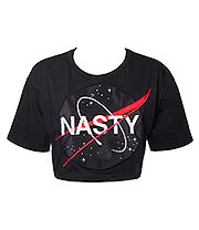 Killstar NASTY Crop Top (Black)