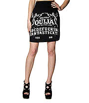 Killstar Ouija Skirt (Black)