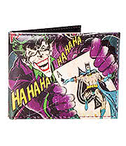 DC Comics Joker Wallet (Black)