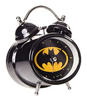 DC Comics Batman Alarm Clock (Black)