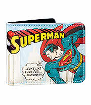 DC Comics Superman Wallet In A Tin