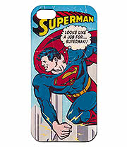 DC Comics Superman Vintage iPhone 5 & 5s Phone Case