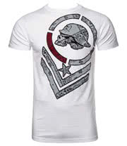 Metal Mulisha Bandeezie T Shirt (White)