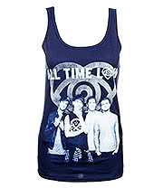 All Time Low Colourless Vest (Blue)