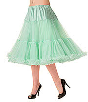 "Banned Starlight 23"" Petticoat (Mint)"