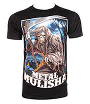 Metal Mulisha Grim T Shirt (Black)