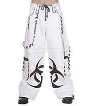 Dead Threads Biohazard Trousers (White)