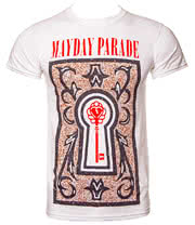 Mayday Parade Filigree T Shirt (White)