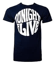 Tonight Alive Round T Shirt (Navy)