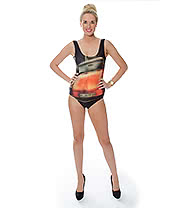 Insanity Beetle Bodysuit (Black)