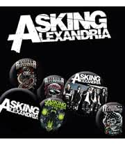Asking Alexandria Badge Pack