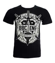 Ben Bruce Clothing by Asking Alexandria Swords T Shirt (Black)