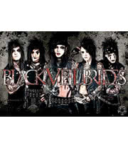Black Veil Brides Leather Maxi Poster