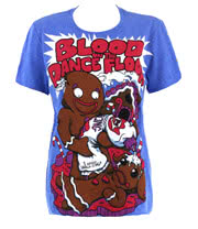 Blood On The Dance Floor Icing On Top T Shirt (Blue)