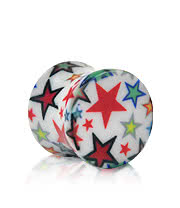 Blue Banana Stars Plug (White)