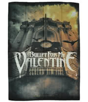 Bullet For My Valentine Scream Aim Fire Flag