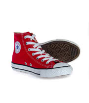 Converse All Star Kids Hi Top Boots (Red)