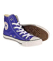 Converse All Star Hi Top Boots (Periwinkle)