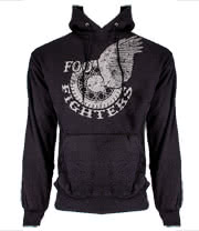Foo Fighters Wings Hoodie (Black)