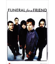 Funeral For A Friend Group Photo Print Poster